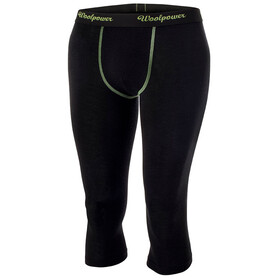 Woolpower Lite 3/4 Long Johns Men Black